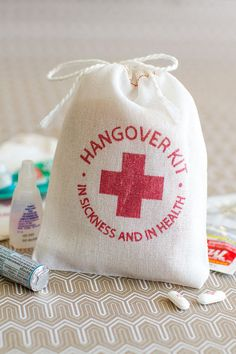 Hangover Kit  bachelorette party favor  bachelor by becollective, $14.00