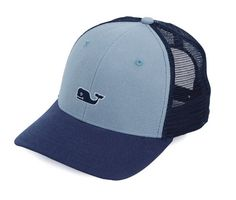 Vineyard Vines High Profile Whale Logo Trucker Hat. GorrasVides Del ViñedoSombreros  Para ... 865c5812a38