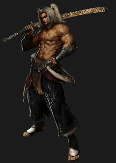Kilant-Seuyong - Sword Saint -attacker of the Supernatural - 12th lvl kensai -  loyal follower of Eban