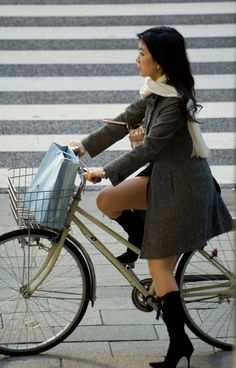 That cycle chic Tokyo thigh...