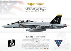 "F / A-18F VFA-103 ""Jolly Rogers"" DP-09"