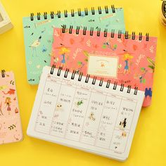 Cheap book safe, Buy Quality supply group directly from China book silver Suppliers:                Cute Notebook Red hat girl Agenda week plan Diary Day planner journal record stationery