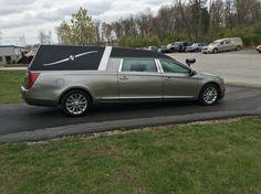 Platinum Phoenix hearse Astor silver