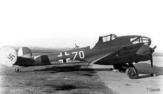 Potez 63 - captured and used by the Luftwaffe.