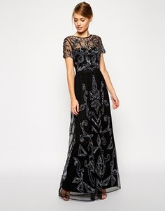 ASOS+Embellished+Pretty+Gothic+Maxi+Dress