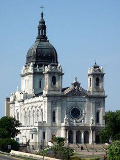 Basilica Cathedral in Minneapolis Minnesota