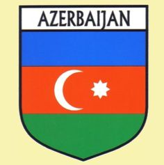 For Everything Genealogy - Azerbaijan Flag Country Flag Azerbaijan Decals Stickers Set of 3, $15.00 (http://www.foreverythinggenealogy.com.au/azerbaijan-flag-country-flag-azerbaijan-decals-stickers-set-of-3/)