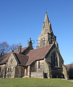 A Beautiful English Country Church on a Sunny Day. Stock Photo - 9168602