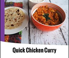 {Thermomix} Quick Chicken Curry