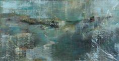 Antonietta Grassi Stillness,-2012,-oil-and-ink-on-canvas,-5'-x-11'
