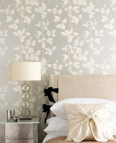 Wallpaper Trends 19 Stunning Examples of Metallic Wallpaper Butterfly-bedroom Wallpaper Bedroom, Wallpaper Trends, Bedroom Feature Wallpaper, Stylish Bedroom Design, Wallpaper Design For Bedroom, Home Decor, Room Decor, Stylish Bedroom, Room Wallpaper