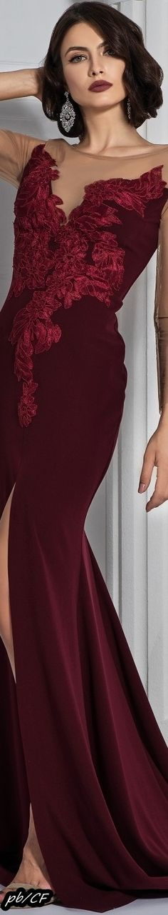 Shades Of Burgundy, Burgundy And Gold, Burgundy Wine, Marsala, Glamour, Beautiful Gowns, Colorful Fashion, Couture Fashion, Classy