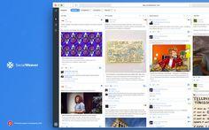 SocialWeaver is a social media management platform for publishing, active listening, and engagement.