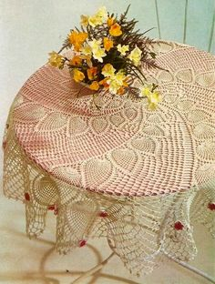 Crochet and arts: Pineapple tablecloth