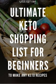 Interested in starting the keto diet but don't know where to begin? Use this keto diet grocery list for beginners to find out exactly what keto food list you need when you next go food shopping. Did you know the main benefit of keto is actually. Keto Diet Grocery List, Food Shopping List, Keto Food List, Keto Meal, Cream Recipes, Keto Recipes, Pumpkin Cream Recipe, Best Keto Diet, Food To Go