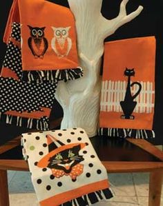 Witch Kitchen Towel project inspiration | towels | Pinterest ...