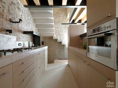 vista leggi di più see more legno e pietra a vista nella casa ...