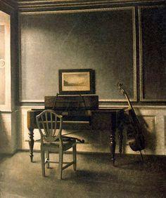 Interior, music room