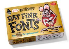 Rat Fink Fonts box