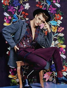 Photo by Michael Woolley Model Vincenzo Amato Styling by Alessandro Calascibetta for Style Magazine Italia http://www.themenissue.com/2015/09/29/style-magazine-october-2015-fashion/