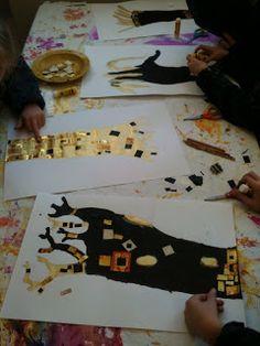 les petites têtes de l'art - arbre Klimt