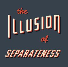 Illusion of Separateness by Dan Cassaro