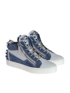21586263477 GIUSEPPE ZANOTTI Giuseppe Zanotti Leather Sneakers.  giuseppezanotti  shoes   https