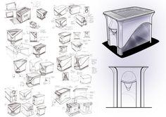 Process by Anton Ruckman, via Behance