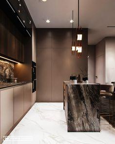Luxury Kitchen Design, Kitchen Room Design, Best Kitchen Designs, Kitchen Cabinet Design, Luxury Kitchens, Home Decor Kitchen, Interior Design Kitchen, Küchen Design, House Design