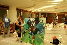International Art Symposium in Kuwait Countries Around The World, Around The Worlds, Portugal, Washington, Canada, India, Country, Artist, Artwork