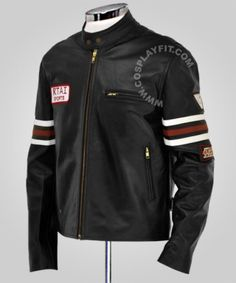 $125.00 - House M.D. Gregory Motorcycle Leather Jacket