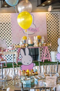 Dainty Miffy Party | http://babyandbreakfast.ph/2015/07/27/miffy-bunny-bash/ | Photo and Styling: Party Deco