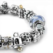 Pandora bracelet!  I am hoping to get this for my birthday or Valentines!!!!!!!!!!!!!!!  *cough, Joel*
