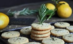 Savory Rosemary and Cheese Cookies. THESE ARE LITERALLY THE BEST THINGS YOU WILL EVER EAT IN YOUR LIFE!!!