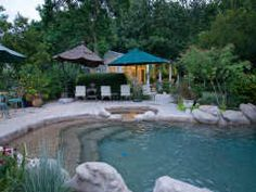 """""""cement pond"""" perfect country pool"""