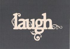 Word Wall Decal  Laugh by SpecialCuts on Etsy, $4.00