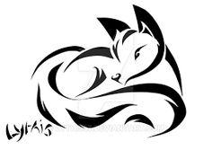 """Résultat de recherche d'images pour """"dessin tatouage renard"""""""