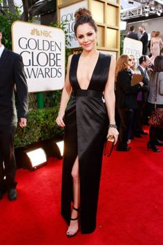 Best boob window dresses of the golden globes. Who's your vote? #fashion #KatherineMcPhee