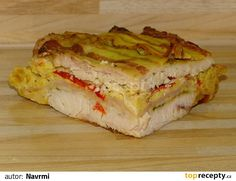 Slovak Recipes, Lasagna, Sandwiches, Menu, Treats, Ethnic Recipes, Food, Cooking, Menu Board Design