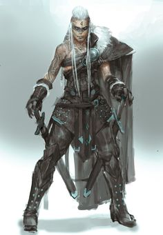 A warrior of the Rok tribe, servants of Kelemvor and slayer of Necromancers. - A warrior of the Rok tribe, servants of Kelemvor and slayer of Necromancers. Character Creation, Character Concept, Character Art, Fantasy Armor, Medieval Fantasy, Dnd Characters, Fantasy Characters, Fantasy Inspiration, Character Inspiration