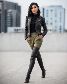 be9cfc1d7b3 7961 Best Black Leather Jacket Girls images in 2019