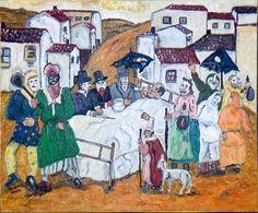 "Vladimir Ksieski: ""El entierro de la sardina, El enfermo"" - Subasta Real"