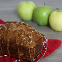 Happy Glaze: Apple Cider Bread with Drizzled Caramel | Shine Food - Yahoo Shine