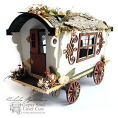 Gypsy Wagon with walkthrough - Nichola Battilana