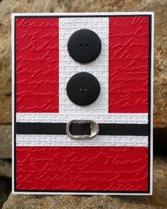 Santa Suit by catcrazy - Cards and Paper Crafts at Splitcoaststampers