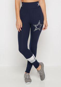 Dallas Cowboys Striped Legging
