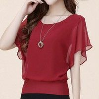 Fashion design,100% Brand New And High quality!  Color:Black/Purpler/Red/White/Navy  Material:Chiffo