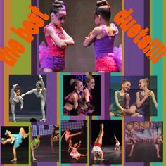 ..............the best duets! (I think) Asia,chloe,Paige,brooke,maddie,Mackenzie, nia and Kendall!!! All the dance moms girls