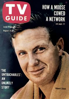 TV Guide, August 11, 1962 - Robert Stack