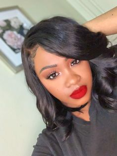 Bob Lace Front Wigs, Short Bob Wigs, Bob Styles, Hairline, Human Hair Wigs, Virgin Hair, Wig Hairstyles, Women, Fashion